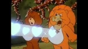 Maybe if Lionheart had employed his Care Bear Stare, he'd still actually be on the throne rather than a glorified legend leaving a family mess behind for his poor nation to deal with.