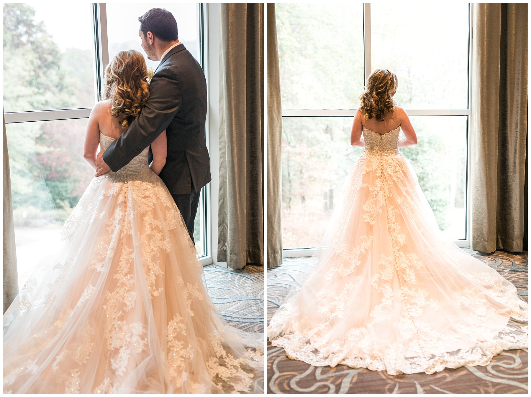 that dress! that lace! that back! that drama! It was to die for!