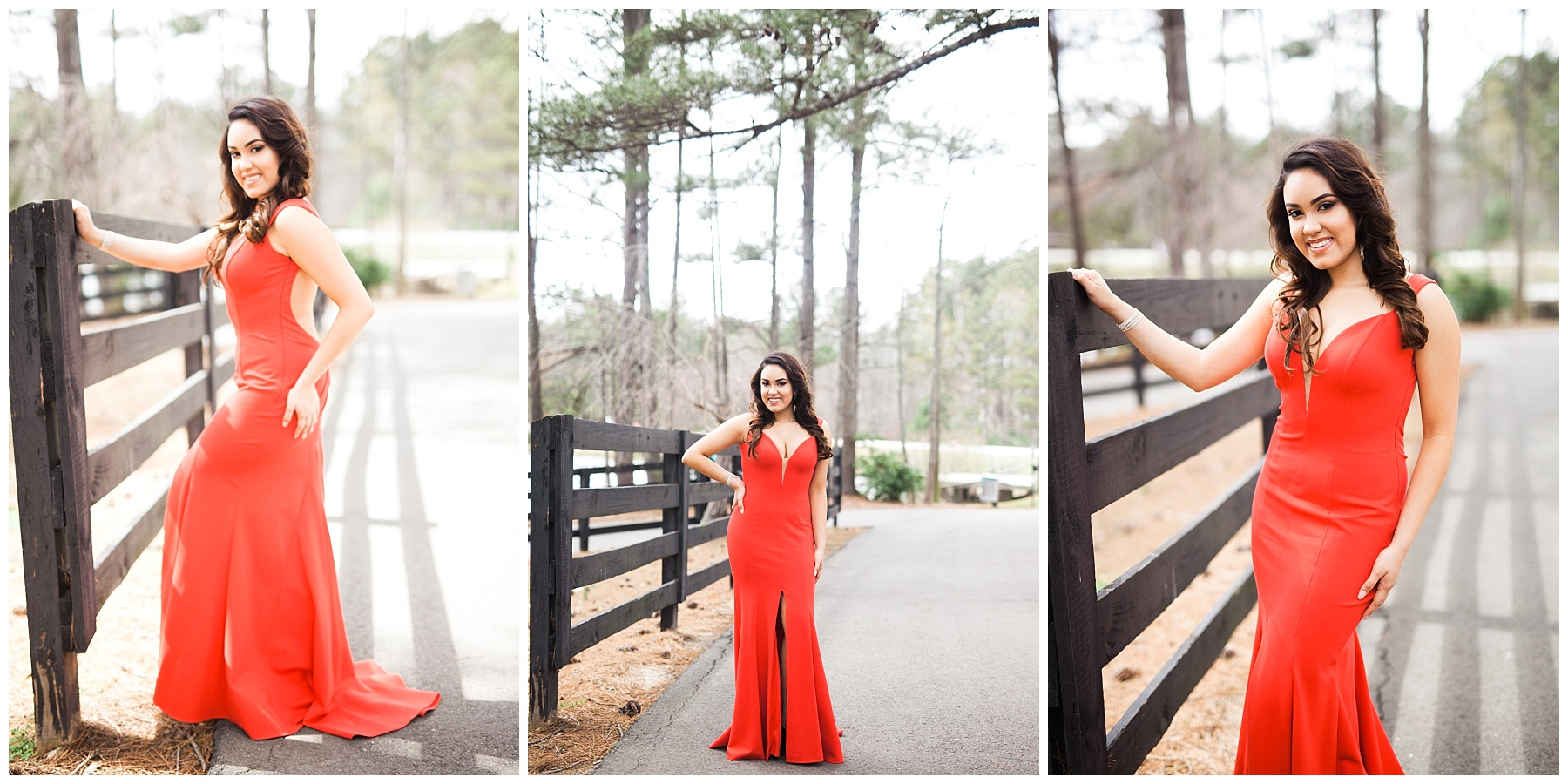 prom atlanta girl red dress