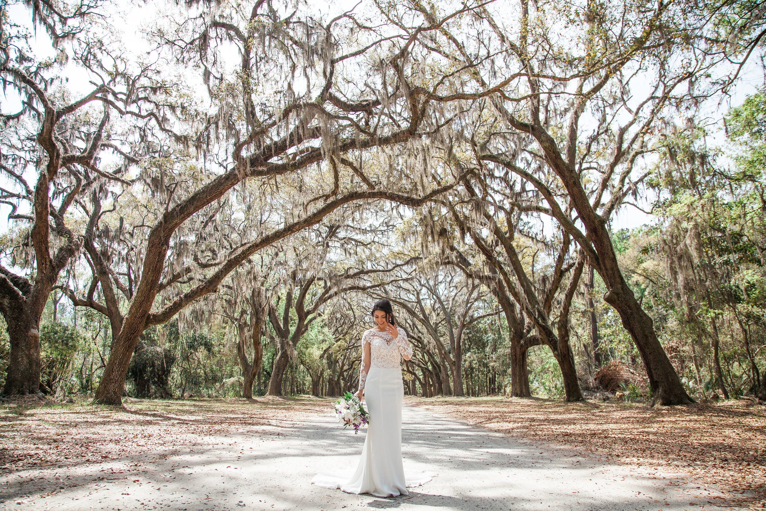 elegant wedding savannah historic wormsloe southern boho bohemian luxe luxury high class
