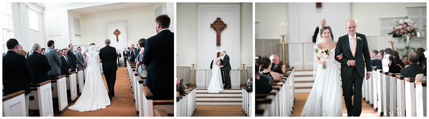 ceremony church wedding southern alabama classic presbeterian