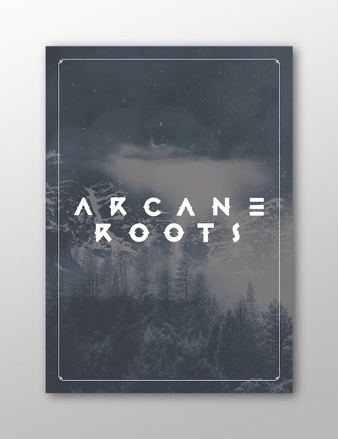 ARCANE ROOTS LTD. EDITION A/W15 1