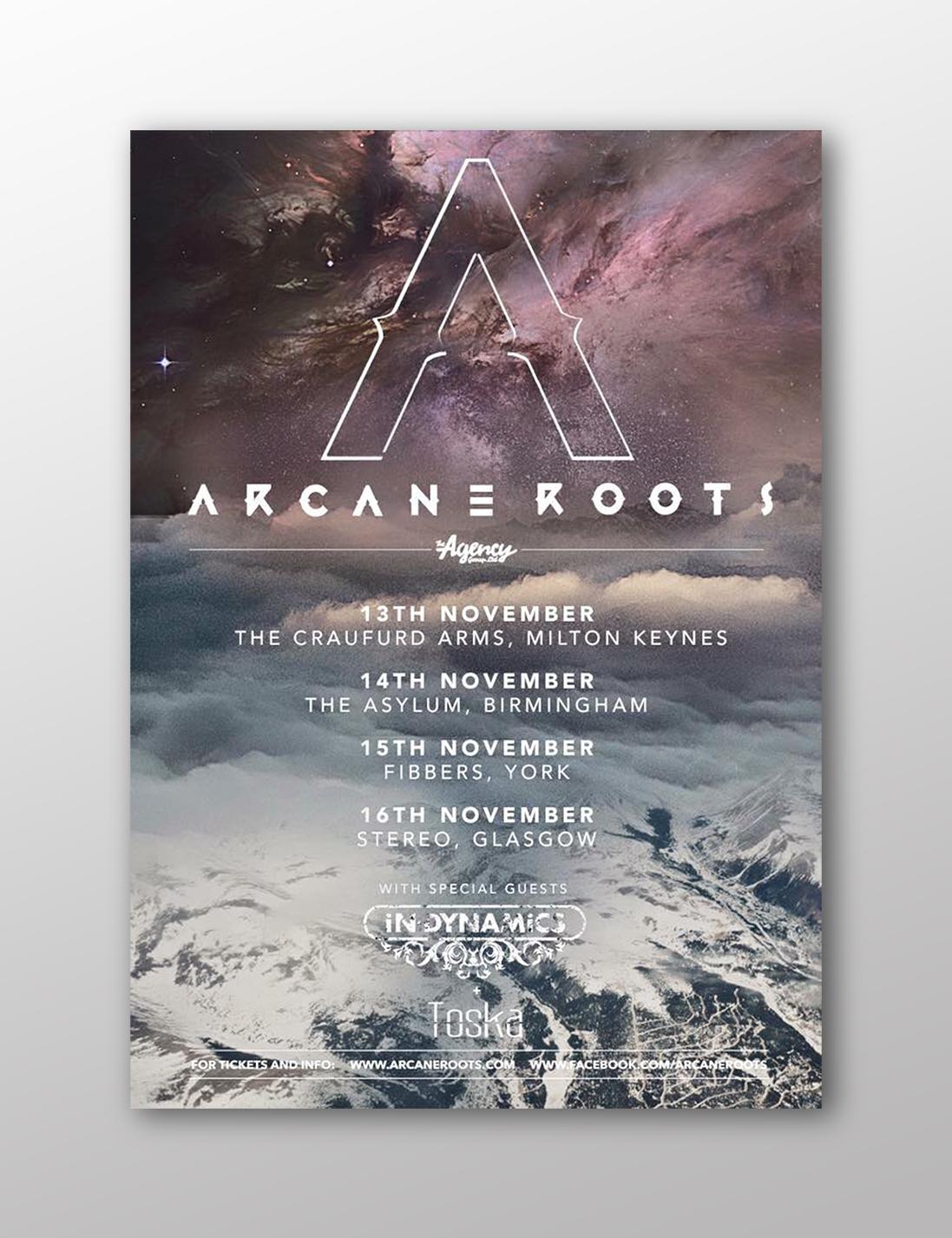 ARCANE ROOTS TOUR A/W16