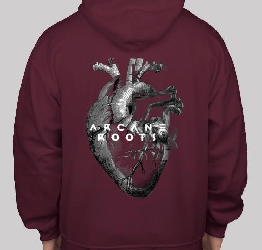 ARCANE ROOTS 'HEART' T-SHIRT