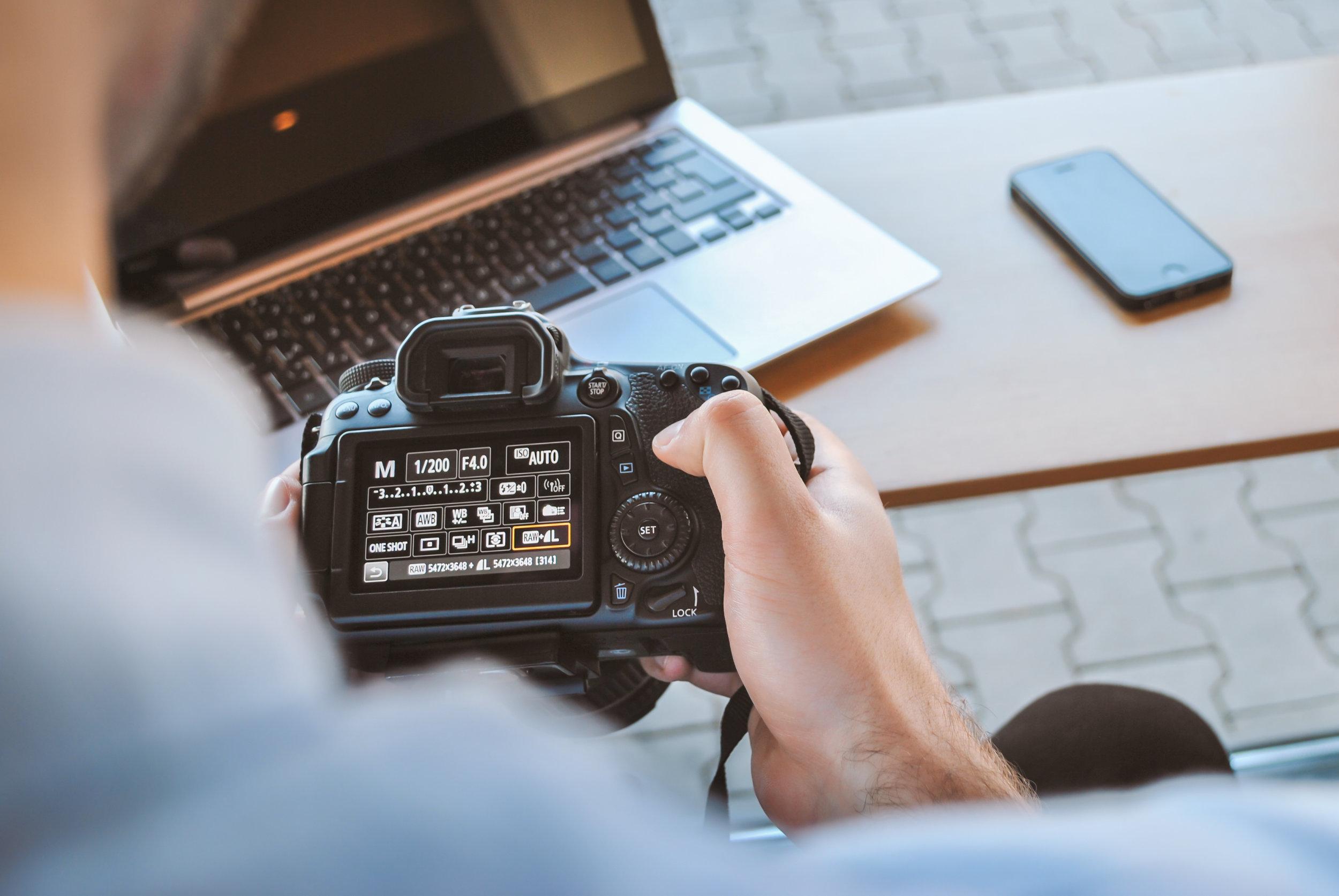 social media photography