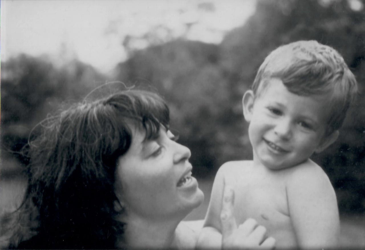 Mom with young Roger