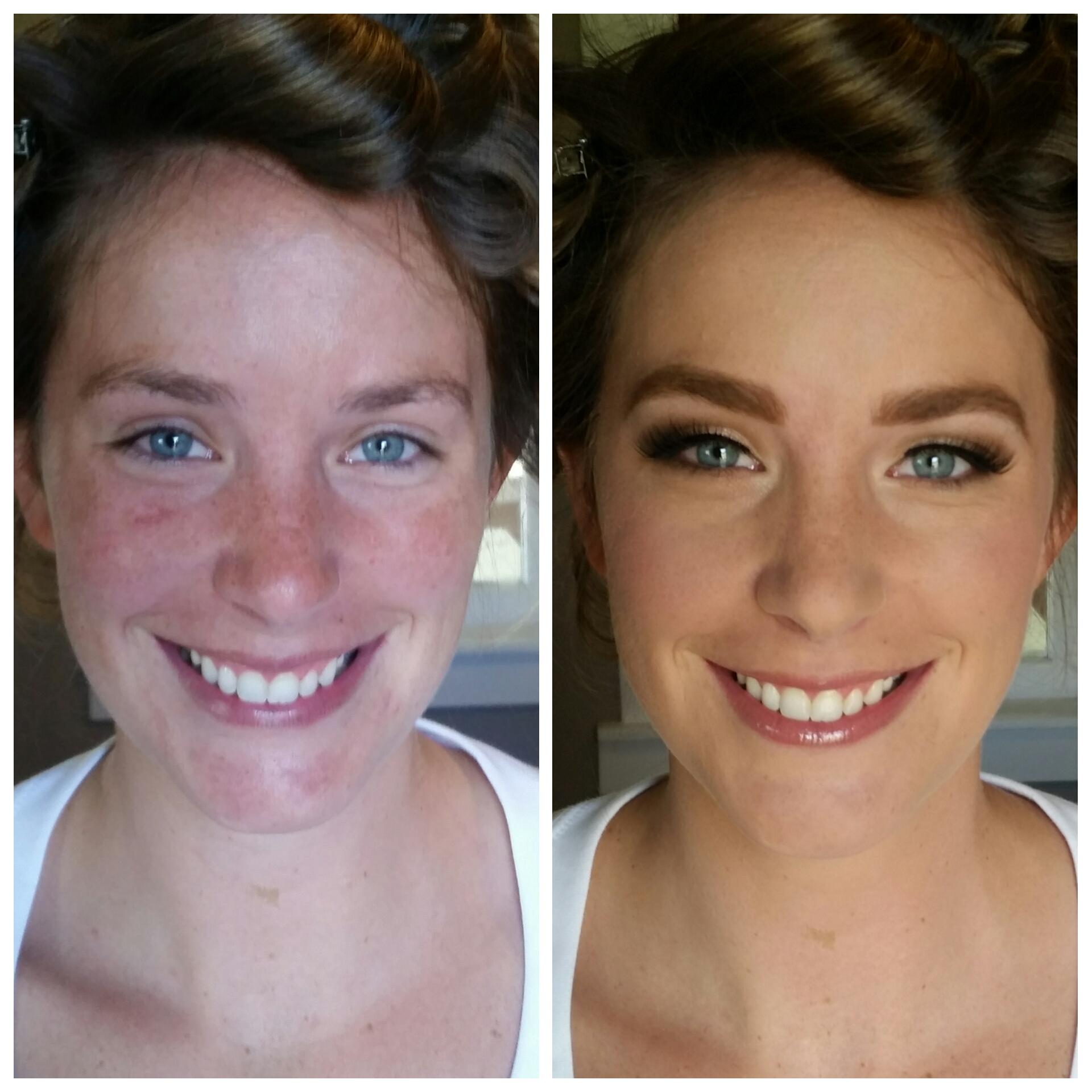 Radiant Bridal Makeup with Airbrush and Mink Lashes by Luminous Beauty Makeup Artist Blaine.jpg