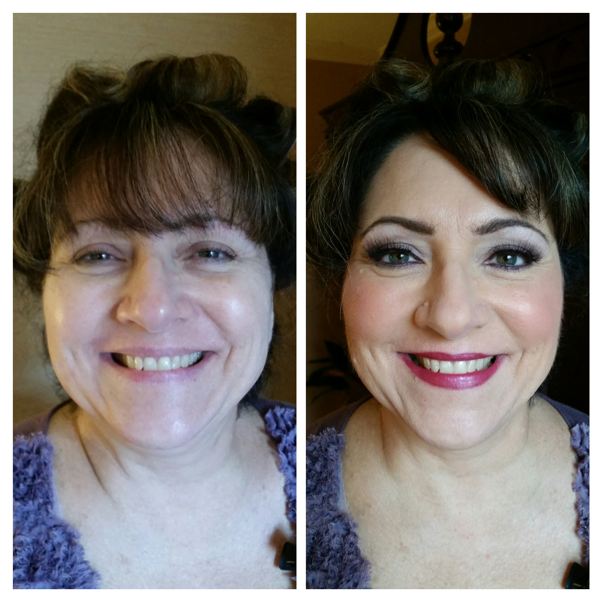 Full Glamour Mother of the Bride Makeup with Airbrush and Lashes Makeup Artist St Paul.jpg