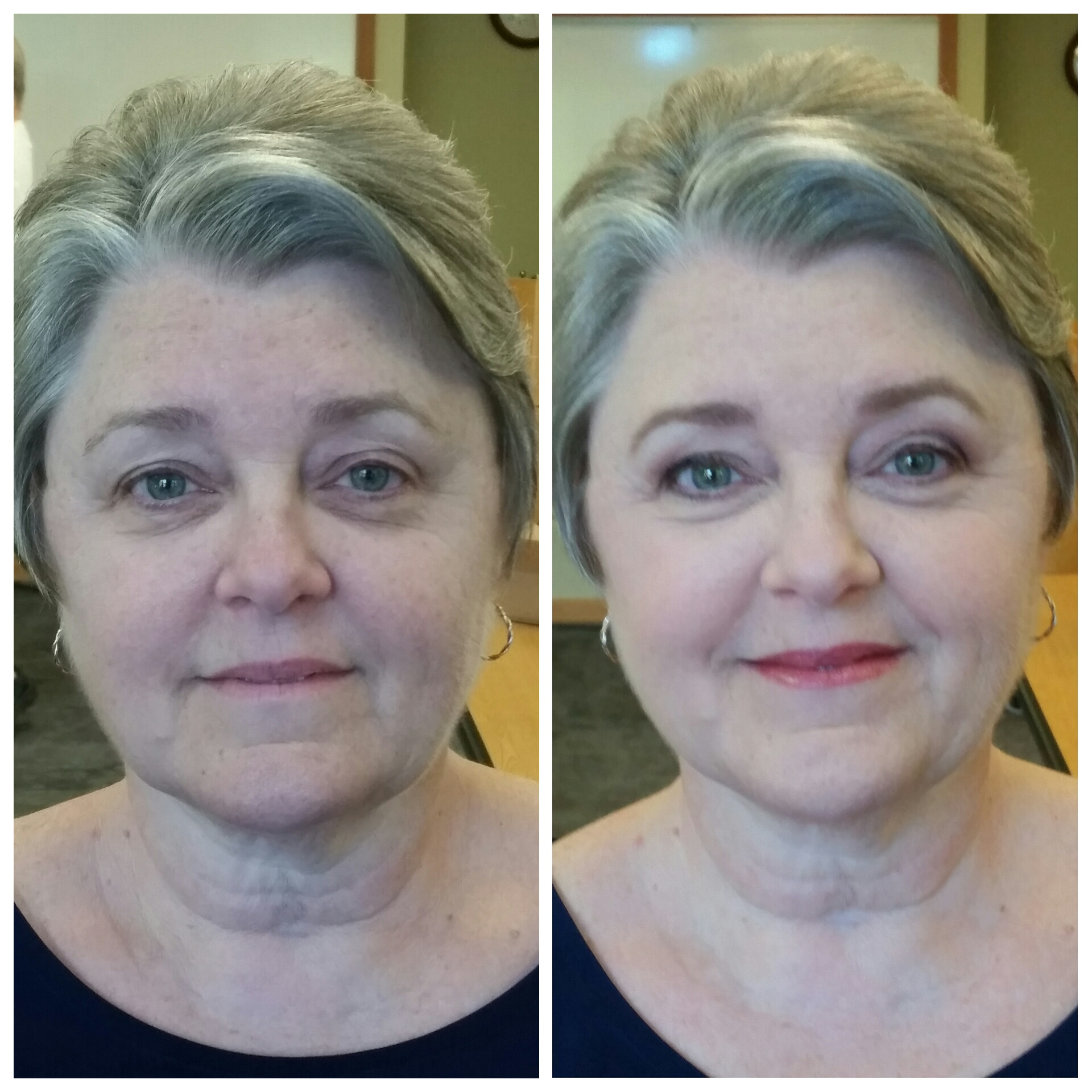 Softly Elegant Mother of the Bride Makeup with Lashes Makeup Artist Chanhassen.jpg