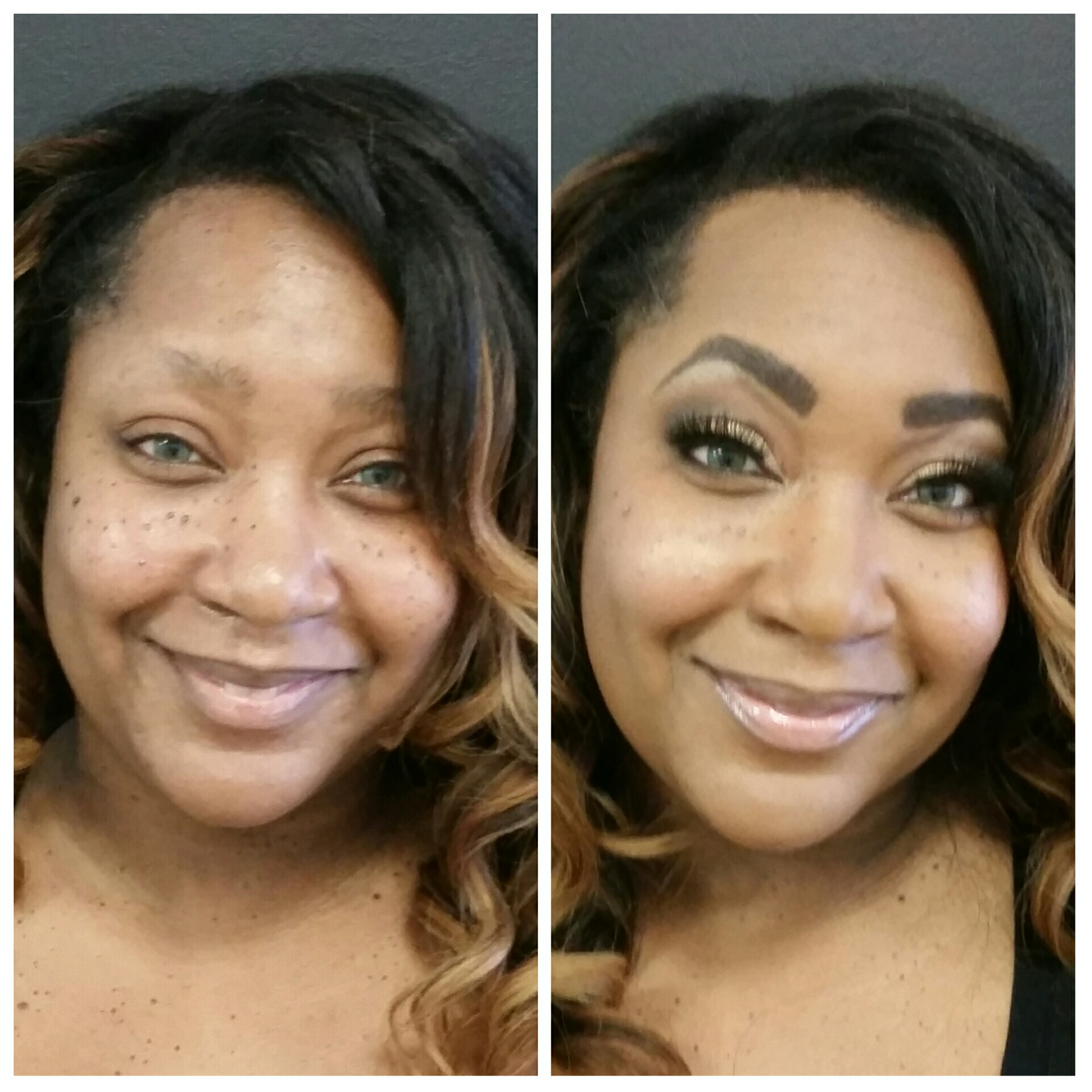Glamorous Birthday Party Makeup with False Lashes by Luminous Beauty Makeup Artist Richfield.jpg