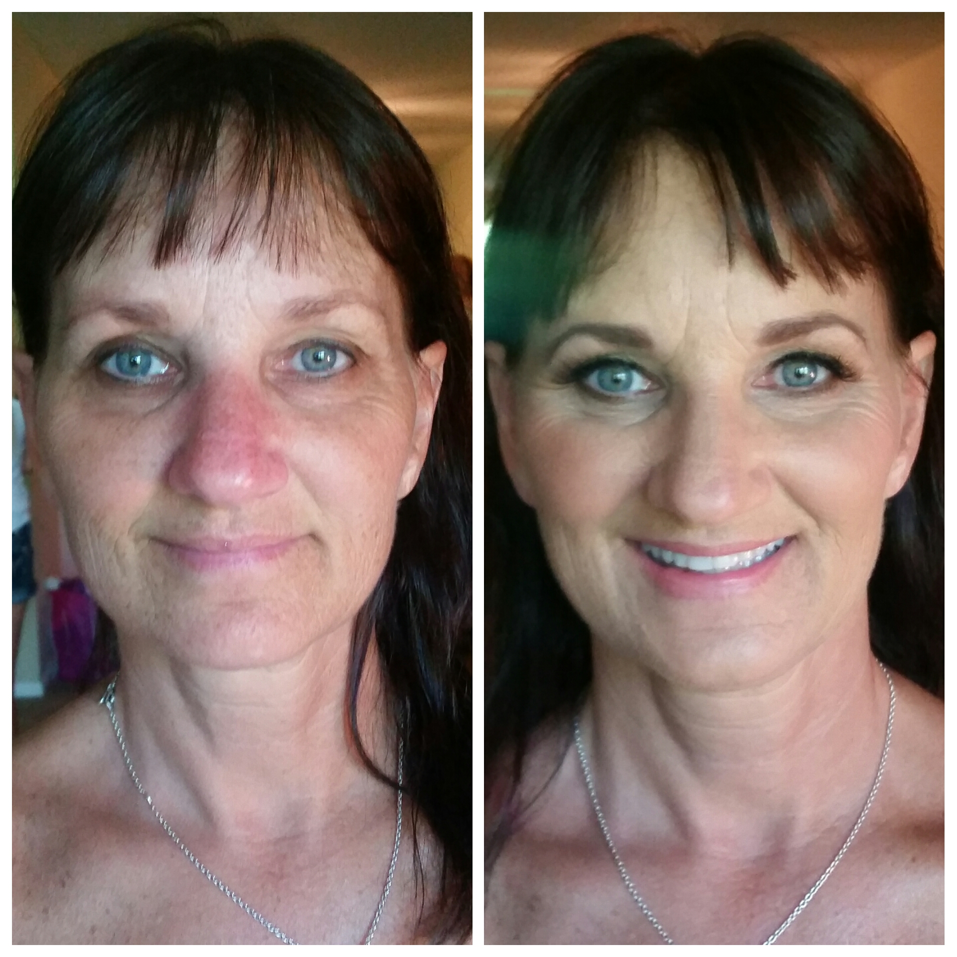 Redness Reducing Makeup Application by Makeup Artist St Louis Park.jpg