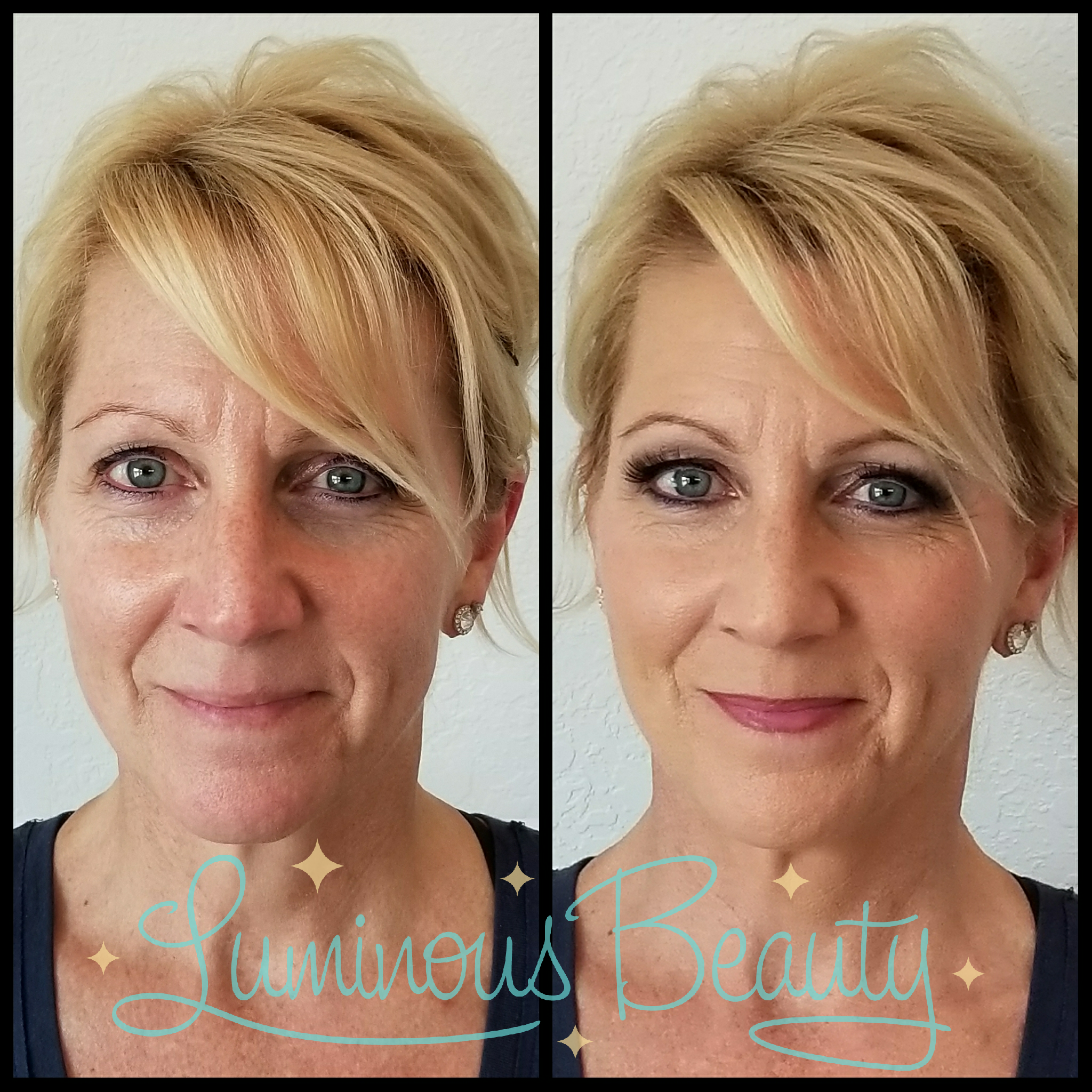 Smokin Hot MOG Makeup with Airbrush and False Lashes. Luminous Beauty Makeup Artist.png