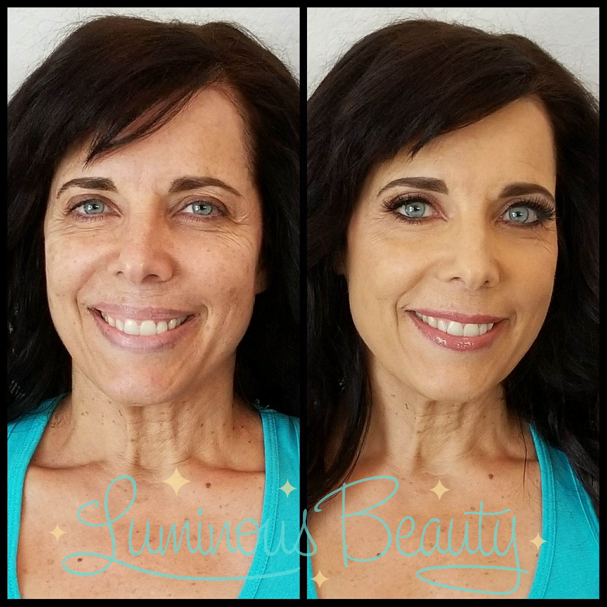 Hot Mama! MOB Airbrushed Makeup with Lashes. Smokey Eyes. Luminous Beauty Makeup Artist..png