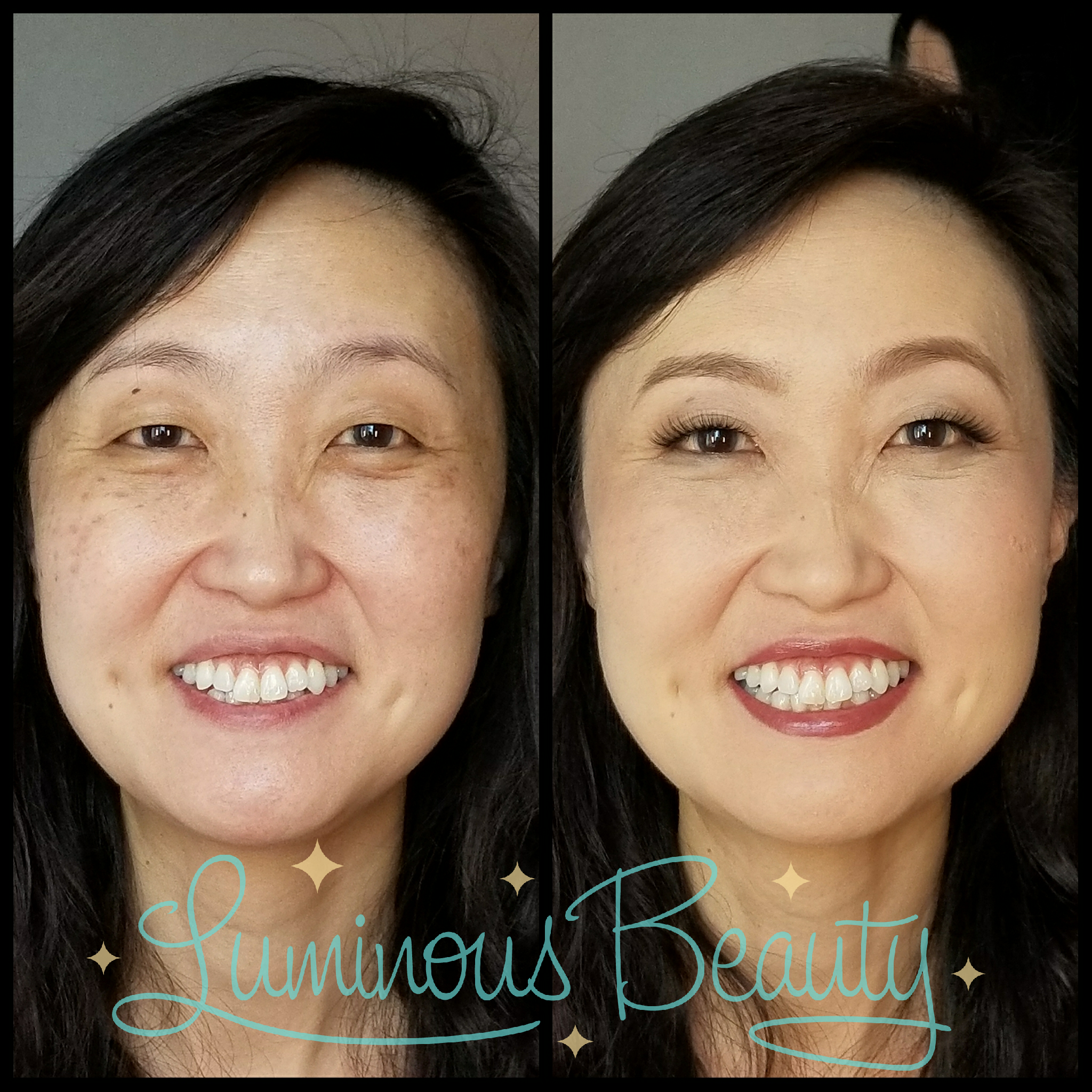 Extra Natural Wedding Attendant Makeup. Age Spot Covering. Airbrushed Makeup with Lashes. Luminous Beauty Makeup Artist..png