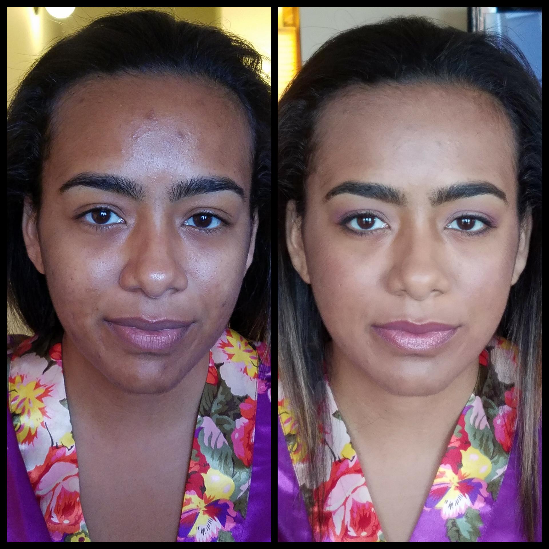 Subtle Bridesmaids Makeup. Acne Covering and Skin Tone Evening. Luminous Beauty Makeup Artist..png