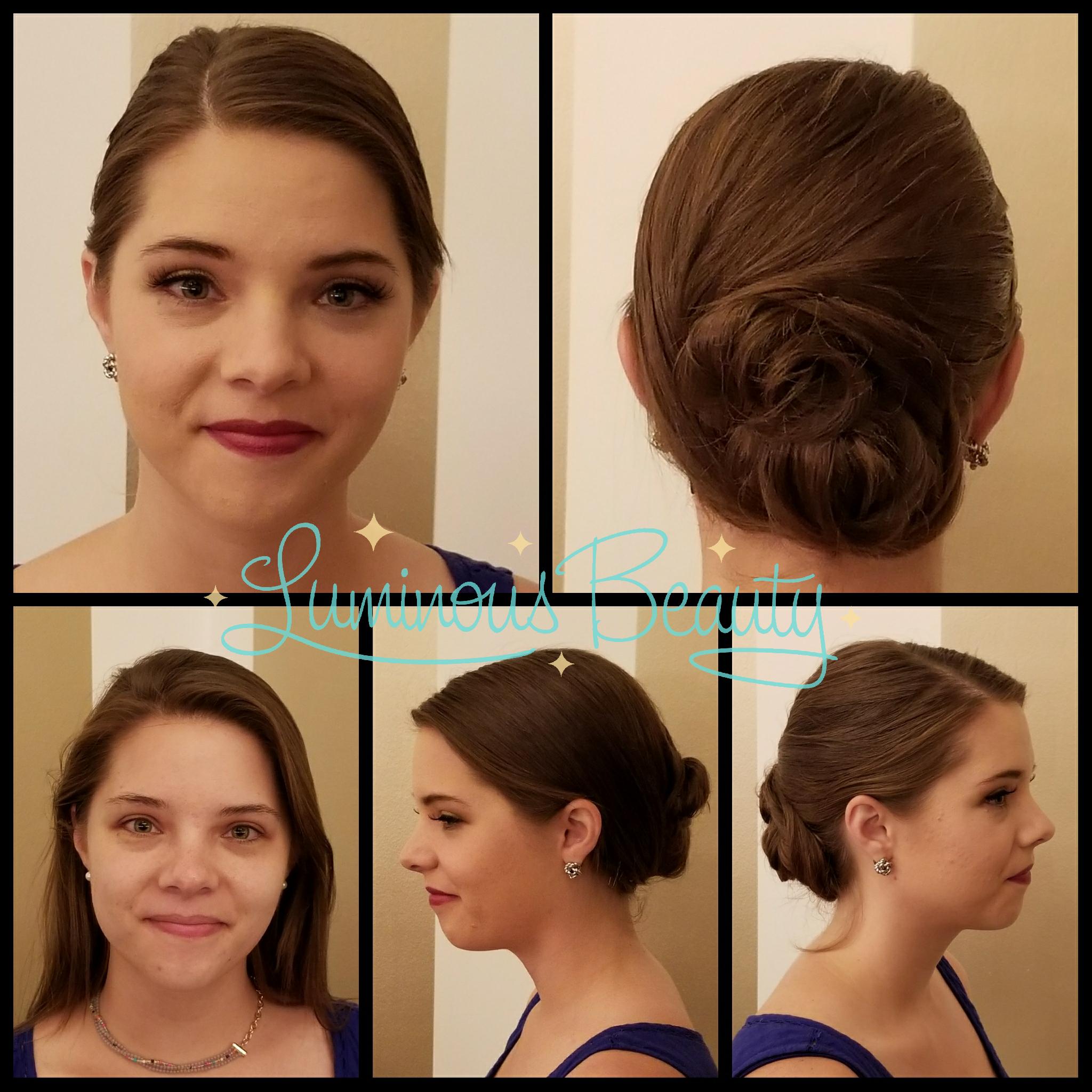 Chic, Simple Updo, Airbrush & False Lashes. Luminous Beauty Hair & Makeup.png