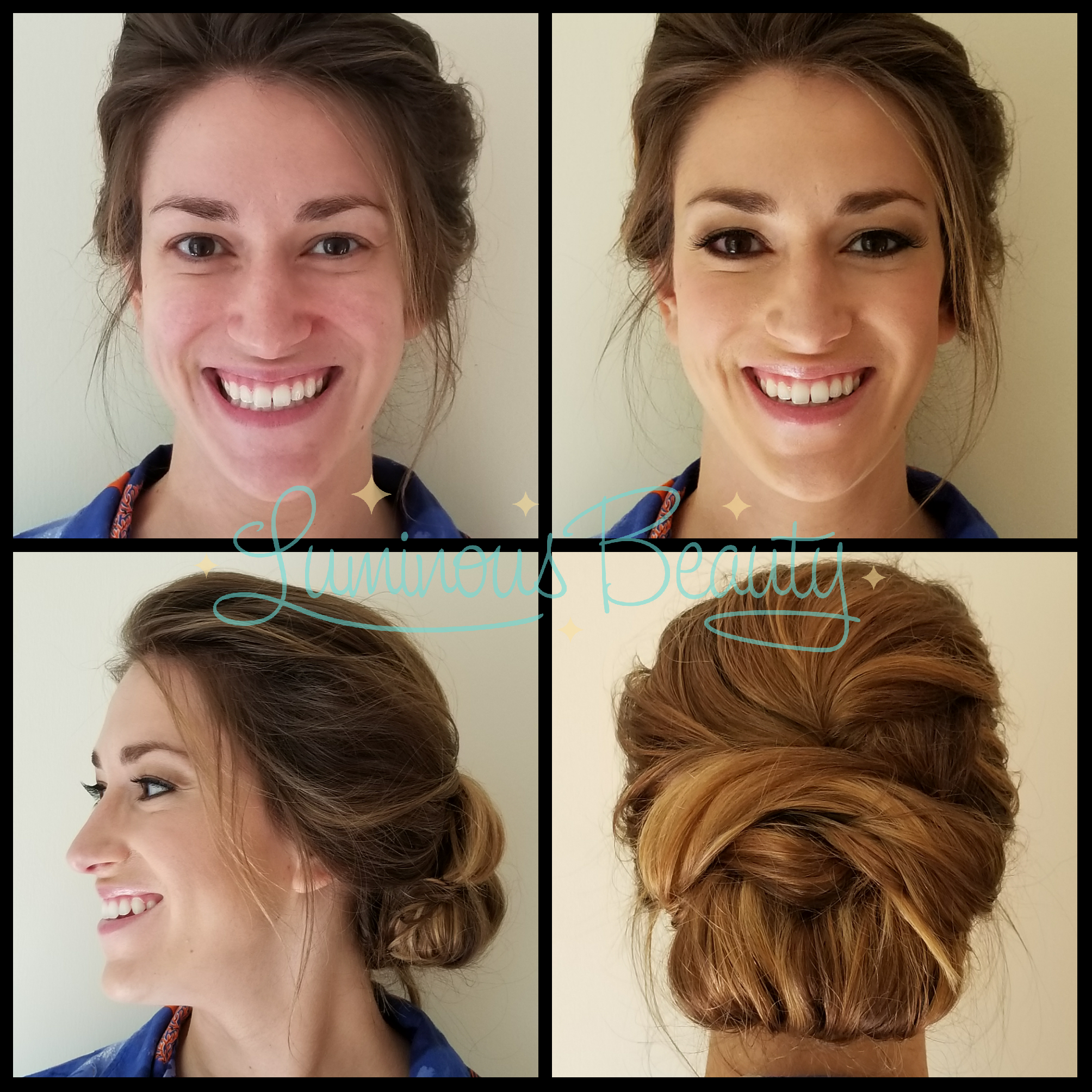Bridesmaids Hair and Makeup with Lashes in Plymouth Luminous Beauty Makeup Artist and Stylist.png