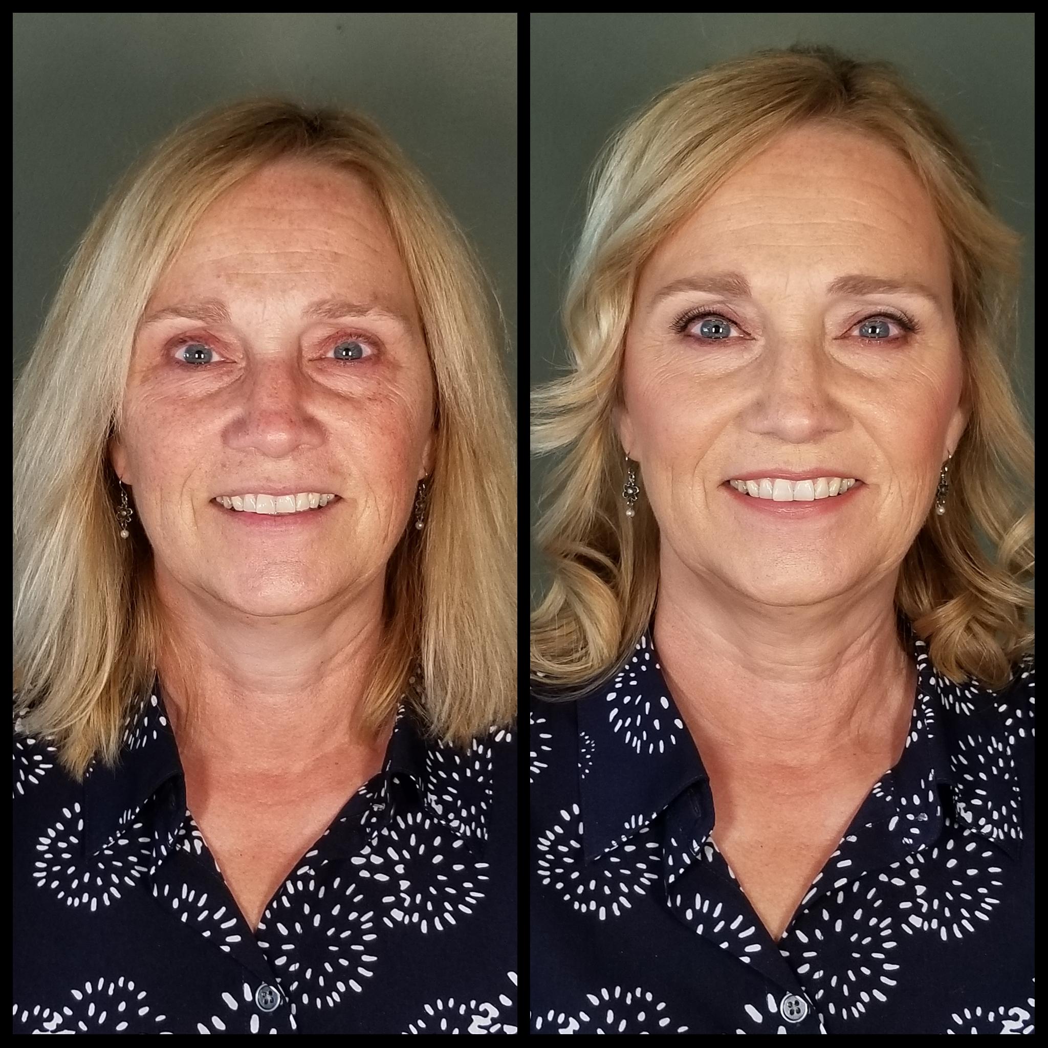 MOG Makeup Airbrush Makeup with Lashes Luminous Beauty Hair & Makeup.jpg