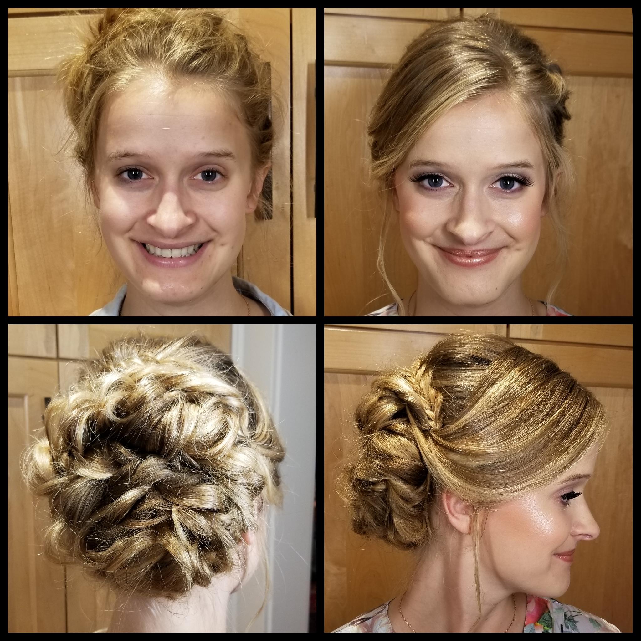 Sideswept Wedding Hairstyle Luminous Beauty Stylist & Makeup Artist.jpg