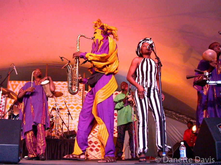 Lagbaja, WOMAD 2001, Redmond,  WA