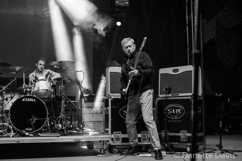 R-L, Andy Gill, Jonny Finnegan, Gang of Four, Modern Sky Festival Seattle,  2015