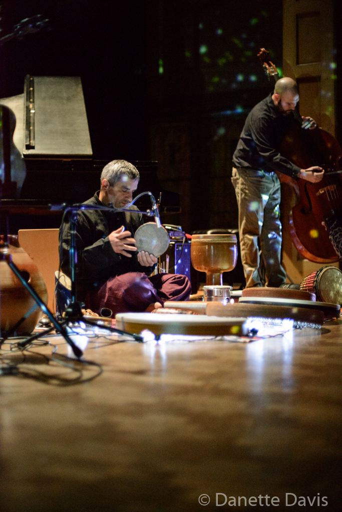 L-R: Yesod, William Wolford, Kurdish Drum (Ahmad Yousefbeigi), and Ray Clemens,  2015