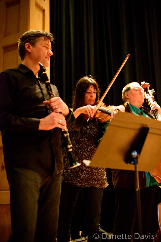 L-R: Jim DeJoie, Alicia DeJoie, Geoff Harper,  2015
