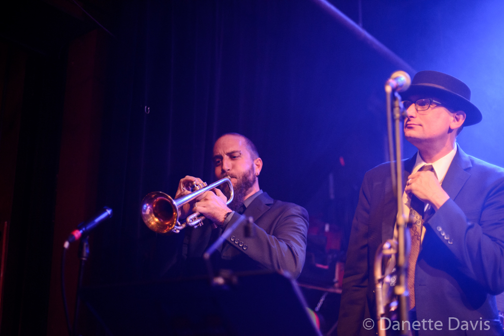 L-R: Trevor Parrish and Roy Brown, Grace Love & The True Loves,  2016 , Tractor Tavern