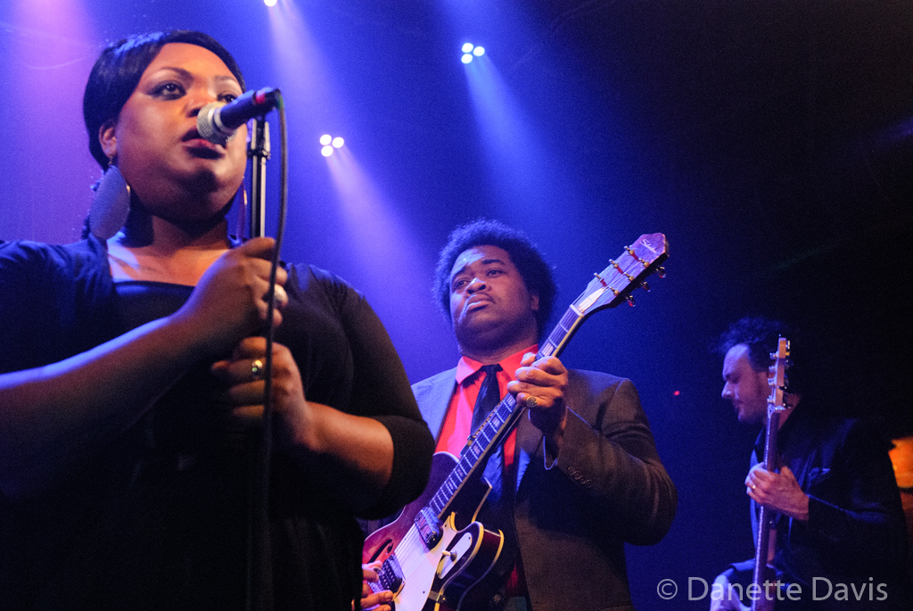 L-R: Grace Love, Jimmy James, and Bryant Moore, Grace Love & The True Loves,  2016 , Tractor Tavern