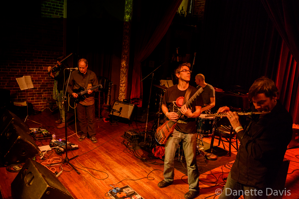 L-R, Alicia DeJoie, Brian Oppel, Dennis Rea, Kevin Millard, and Jim DeJoie, Moraine, Columbia City Theater,  2016