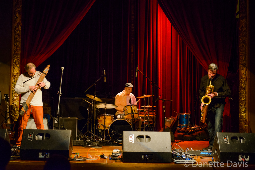 L-R: Jon Davis, Randy Doak and Jim DeJoie, Columbia City Theater,  2016