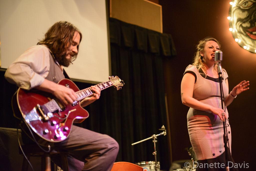 L-R: Jason Goessl and Kate Voss, Sundae+Mr.Goessl,  2016 , at the Royal Room