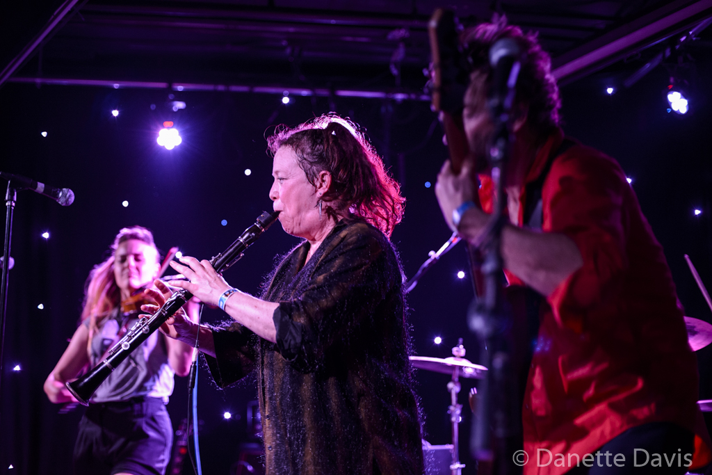 L-R: Paris Hurley, Gino Yevdjevich, Guy M. Davis, and Amy Denio, Kultur Shock,  2016 , at Chop Suey