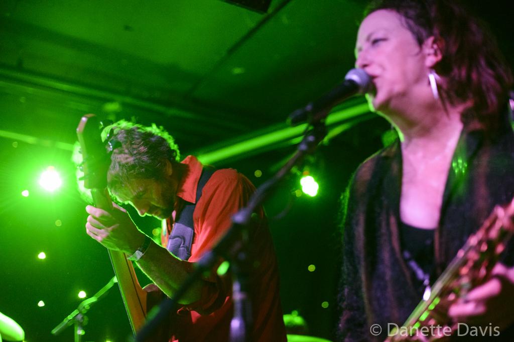 L-R: Guy M. Davis and Amy Denio, Kultur Shock,  2016 , at Chop Suey