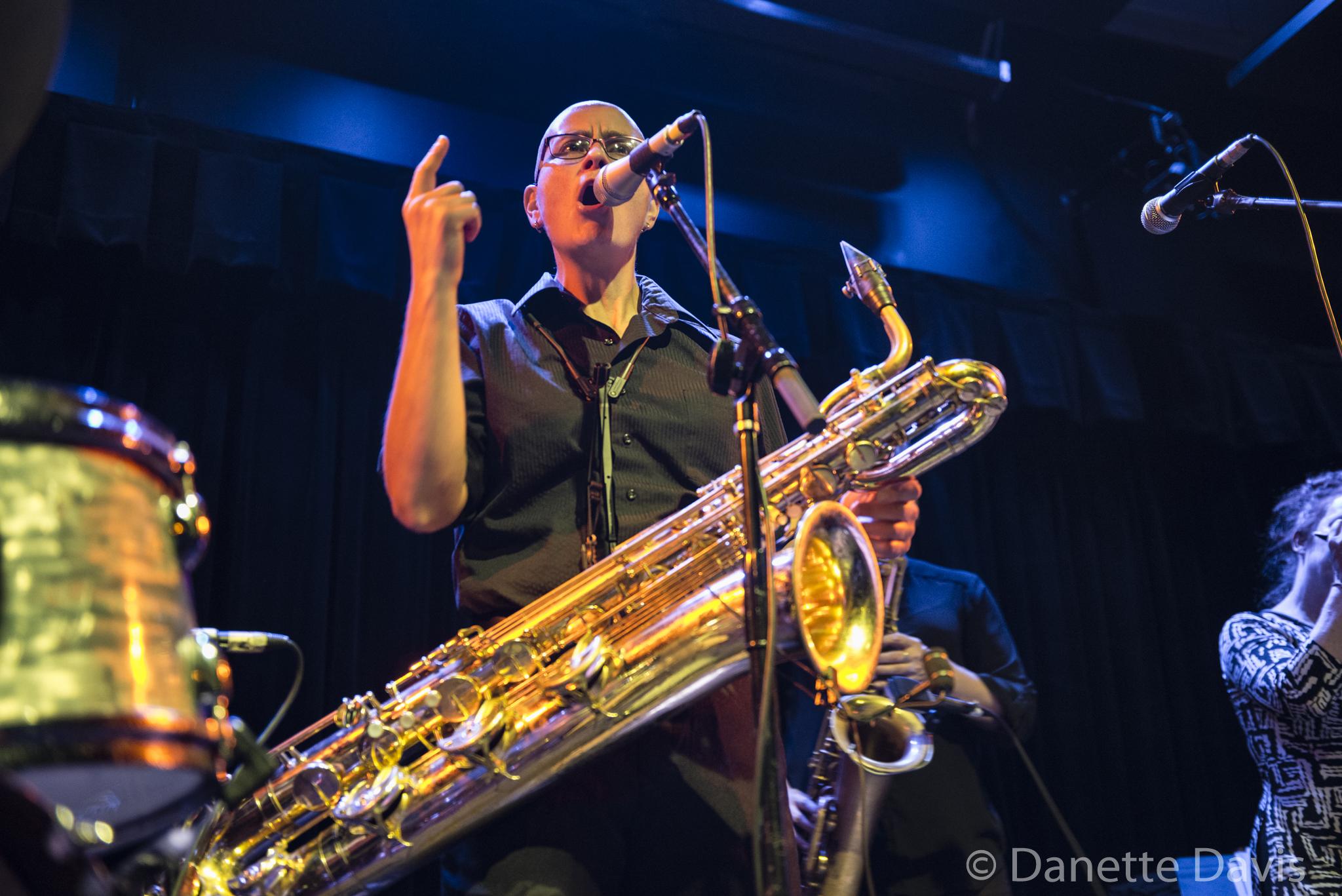 Tina Richardson, The Tiptons Sax Quartet,  2016