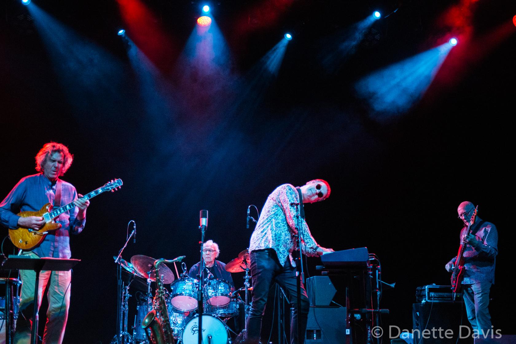 L-R: John Etheridge, John Marshall, Theo Travis, and Roy Babbington, Soft Machine, Triple Door, Seattle, 2019