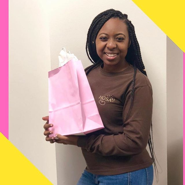 A special congrats to GSU's Rock Member of the month, Shakera! Thank you for being a College Girl that ROCKS! 💖