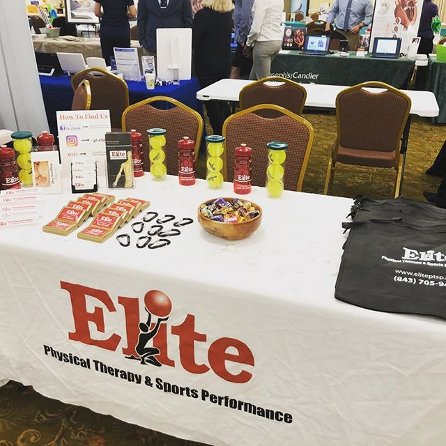 Come join us at the #suncityhiltonhead #healthfair today from 10-2. #community #privatepractice #orthopedics #physicaltherapy #healthyliving #stayactive