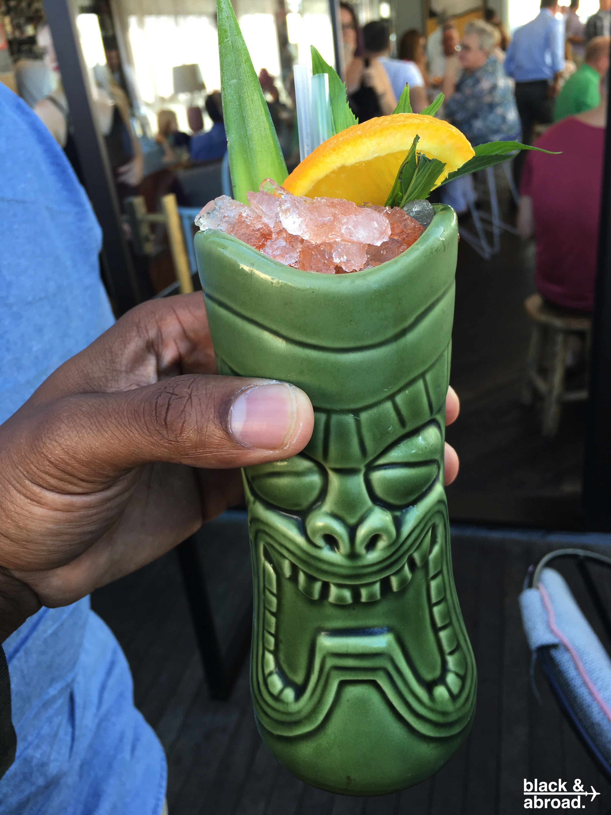 The Greg's Grog is a great way to get a nice buzz to kick off the day at Henry Deane.