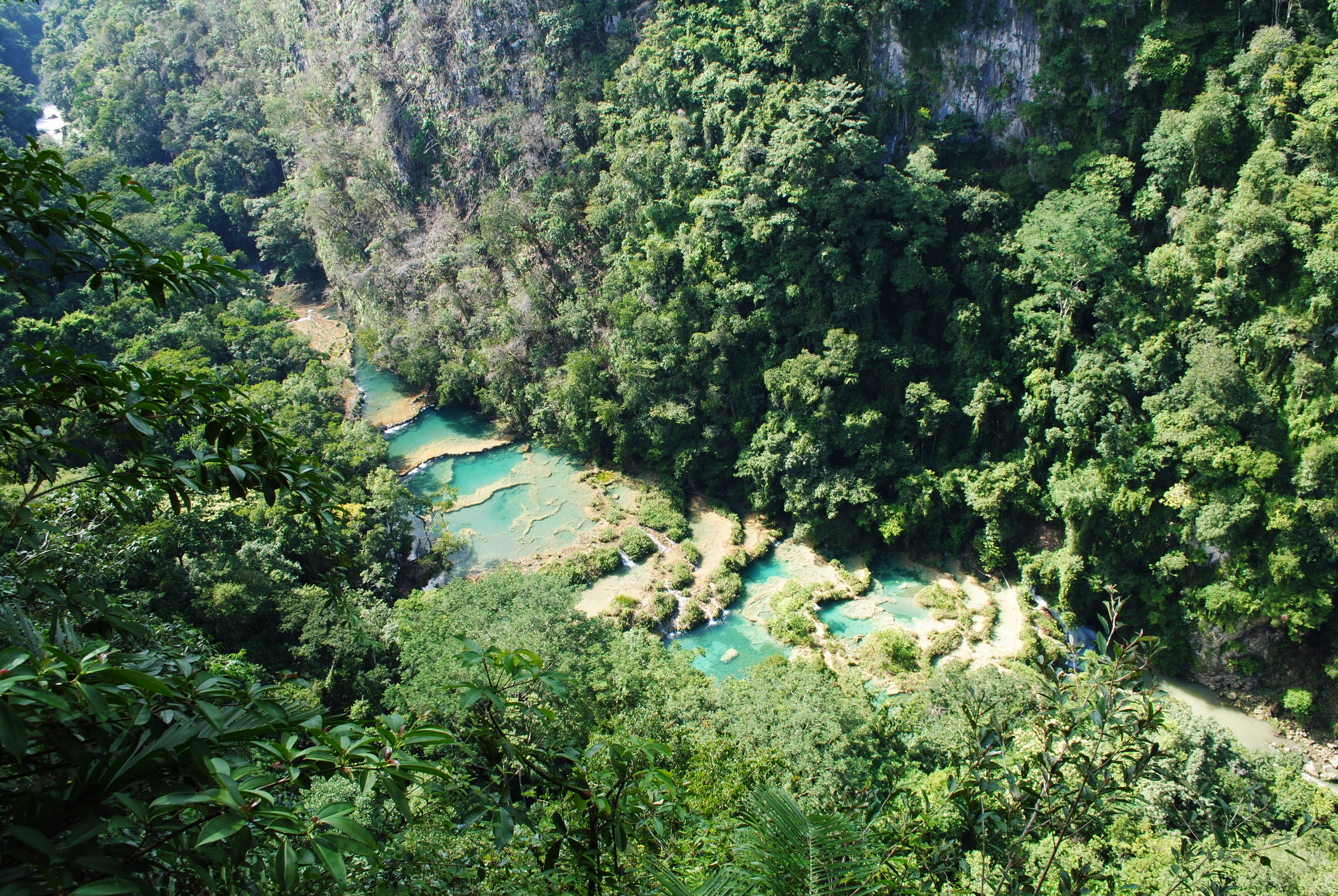 Semuc Champey in Guatemala - a tour that I 100% wanted to go on and was worth the money