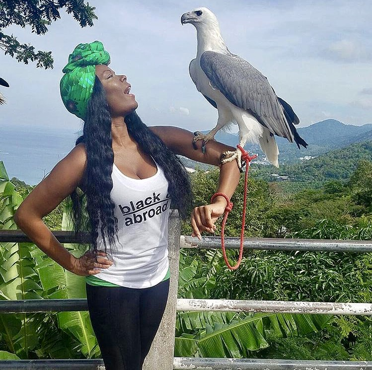 March 2017 with a White Bellied Sea Eagle in Phuket, Thailand.