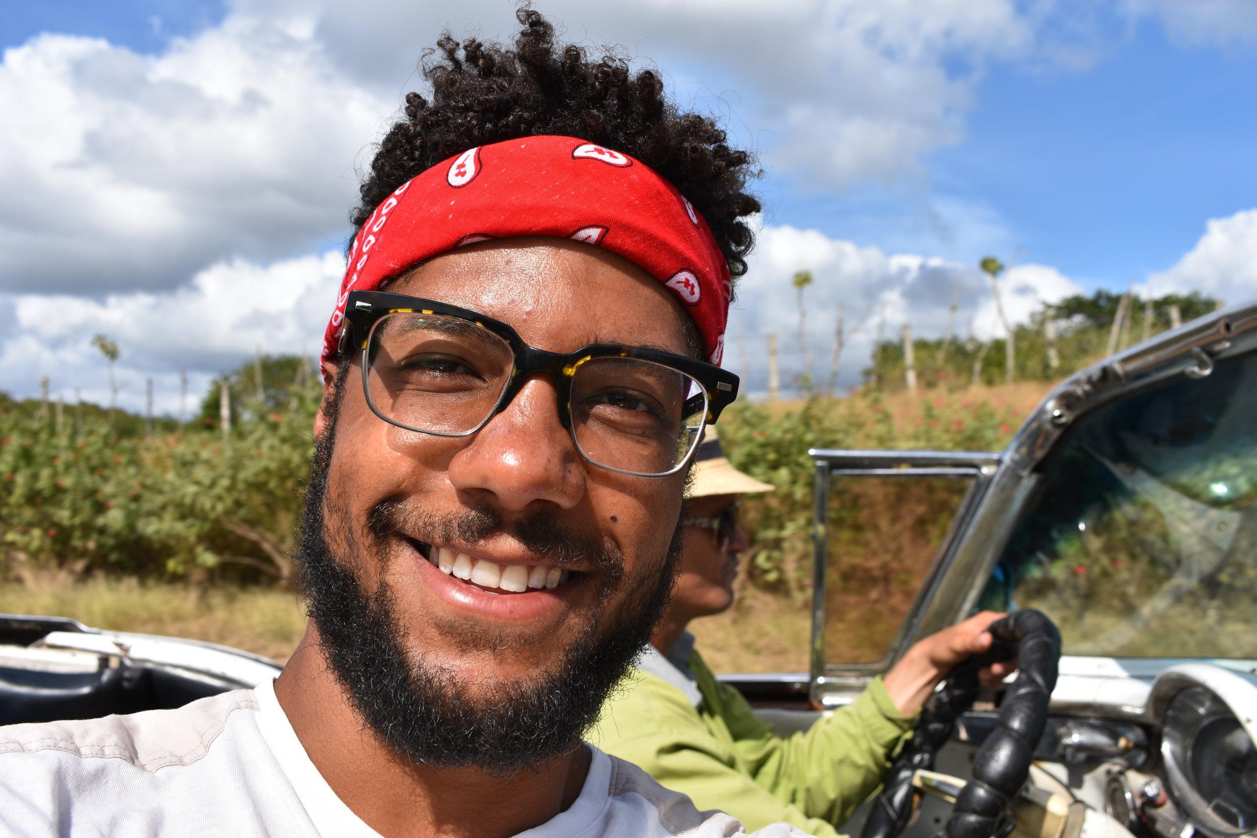 Me being safe in Trinidad, Cuba