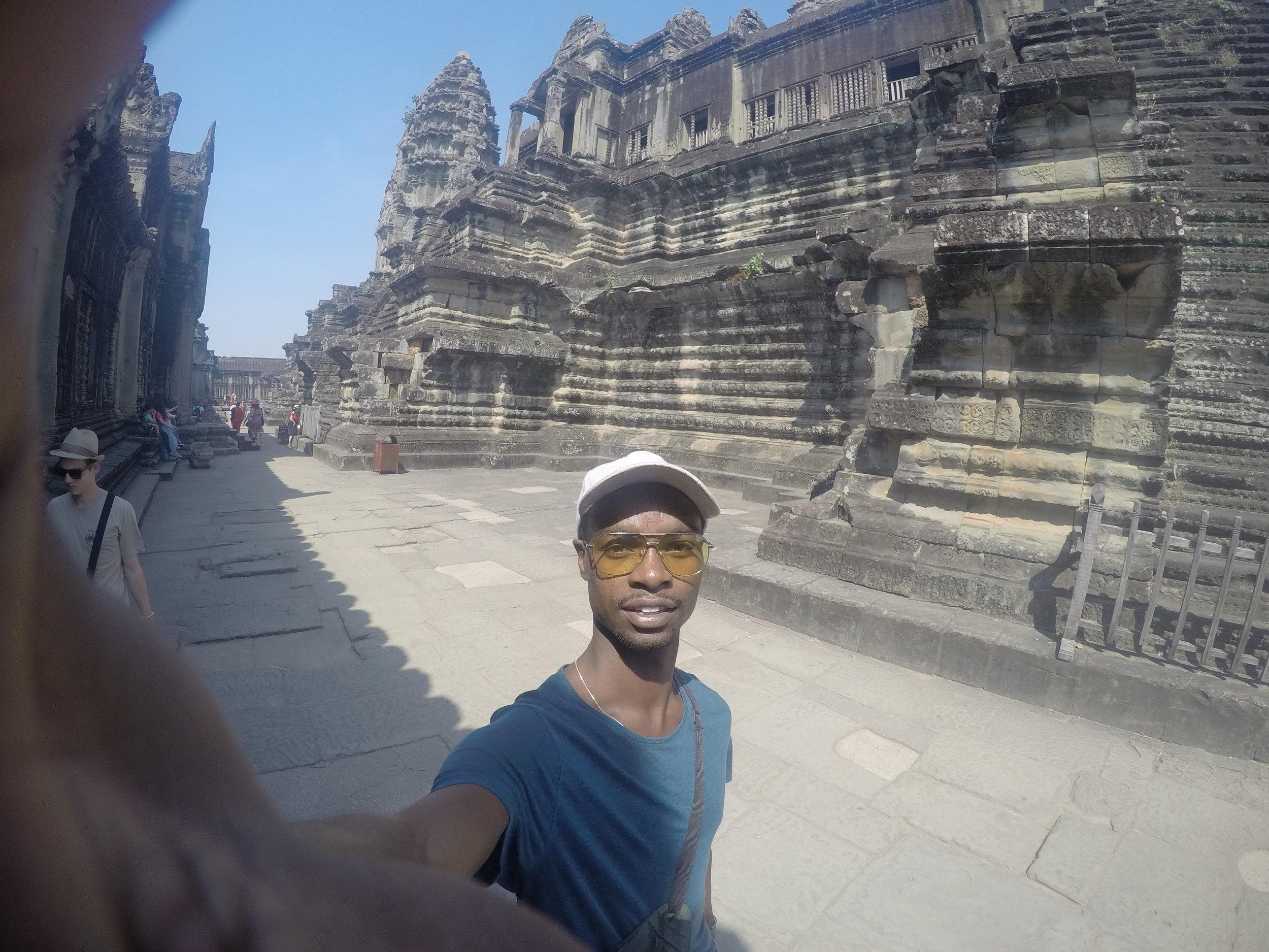 Exploring Ankgor Wat in Cambodia