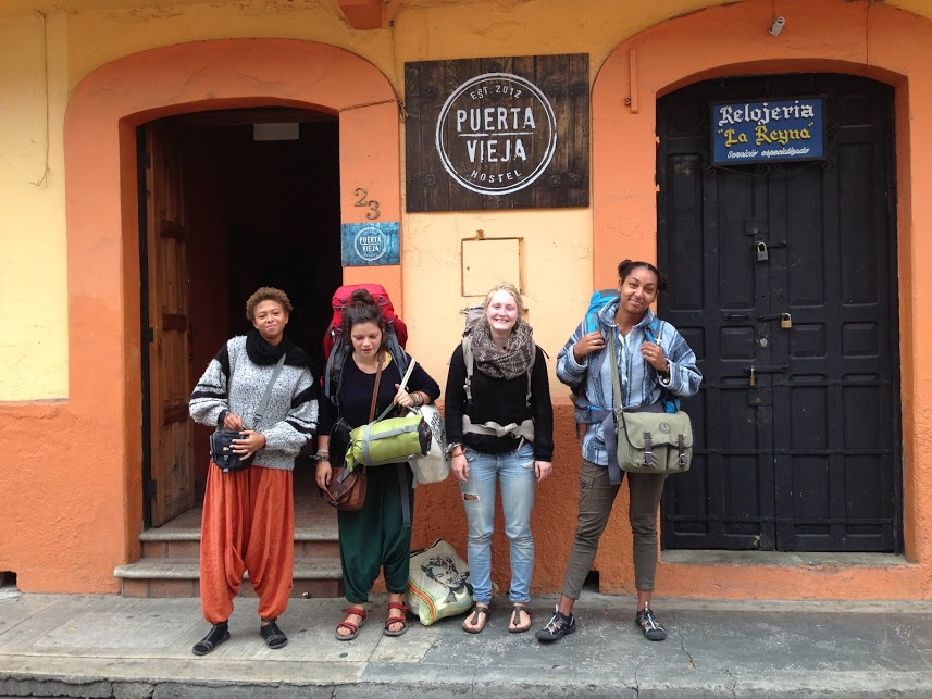Work exchanging in hostels in Mexico.