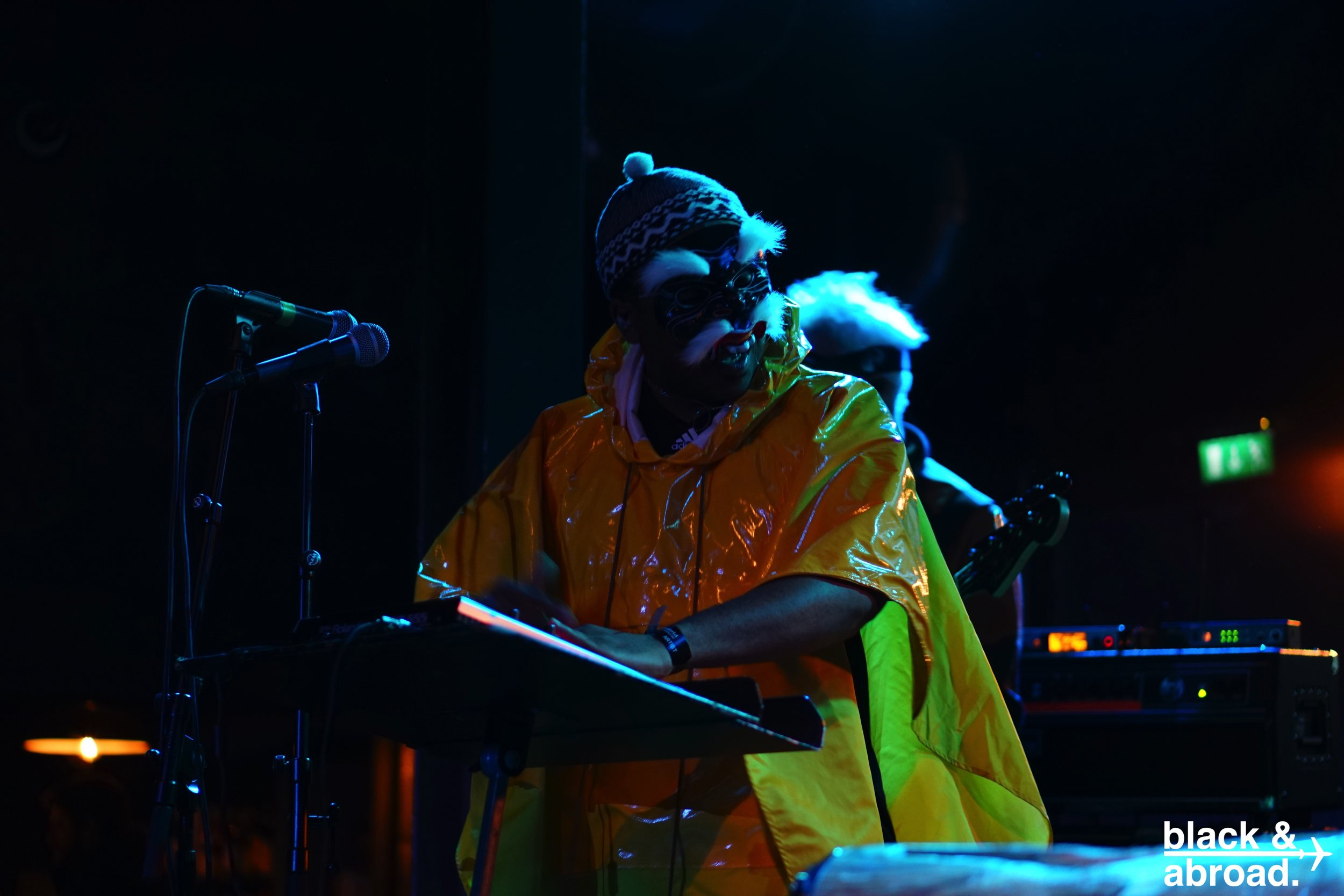 Spoek Mathambo, an artist from South Africa performing during the second night of the festival.