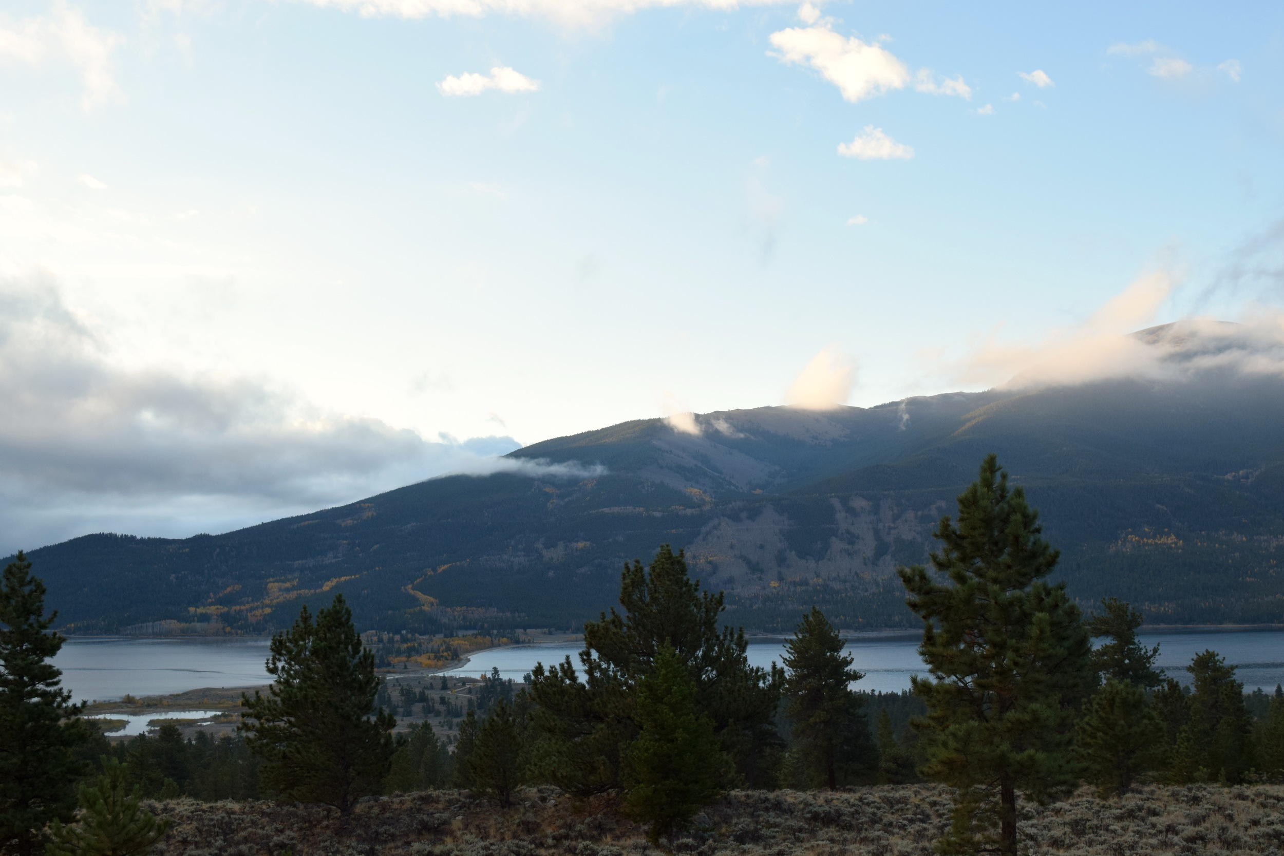 Sunrise off the Sawatch mountains, quite possibly my new favorite mountain range in Colorado.