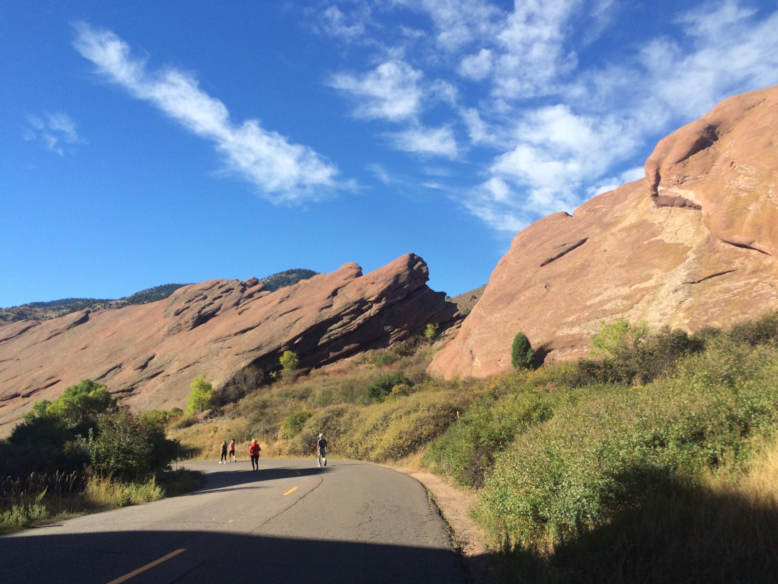Run the Rocks - a 5k through Red Rocks Amphitheater - aka the hardest 5k ever