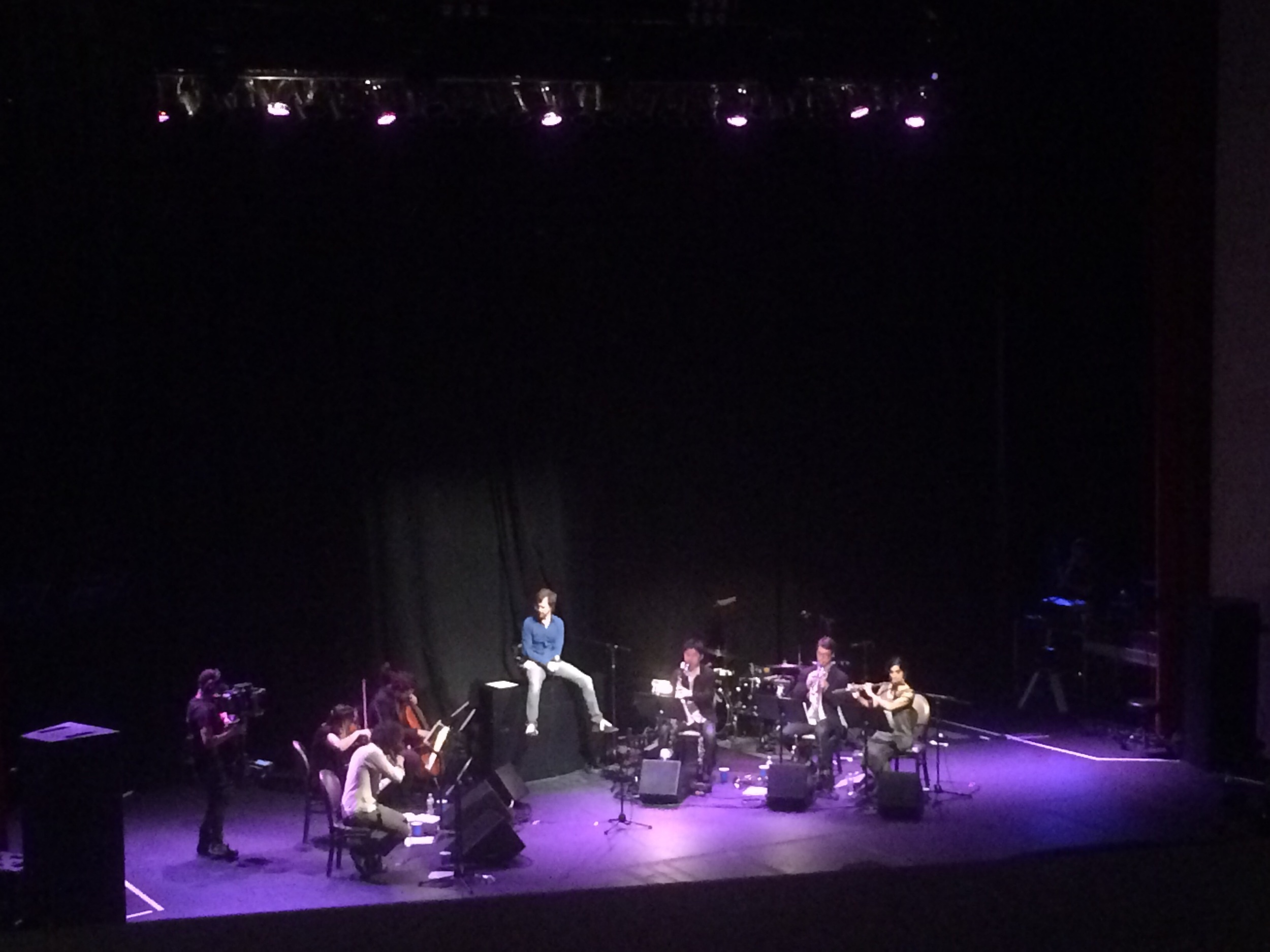 We saw Ben Folds on Monday and he was incredible, and absolute joy to watch.