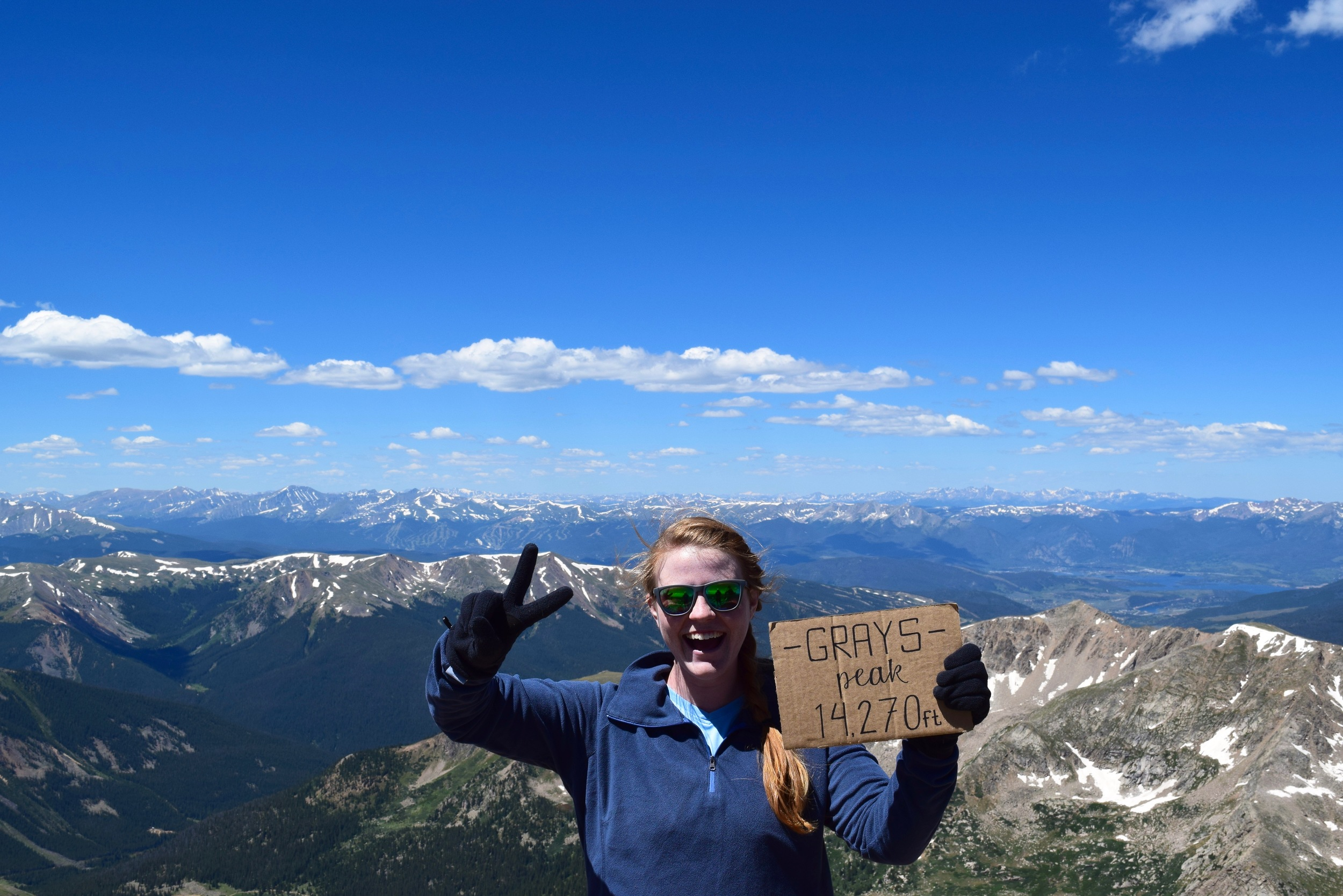 Second fourteener!