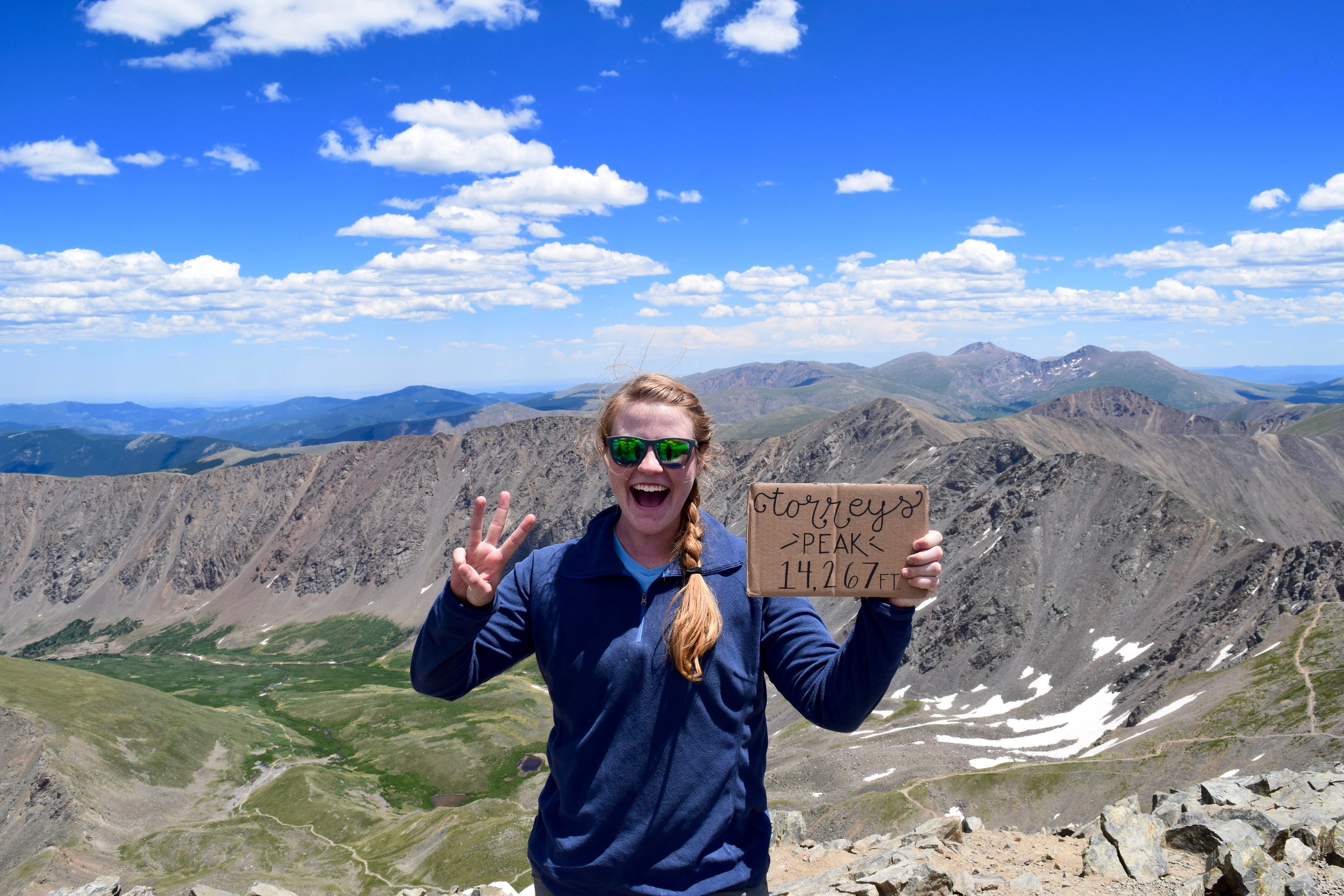 Fourteener number THREE!